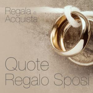 Quote Regalo Sposi